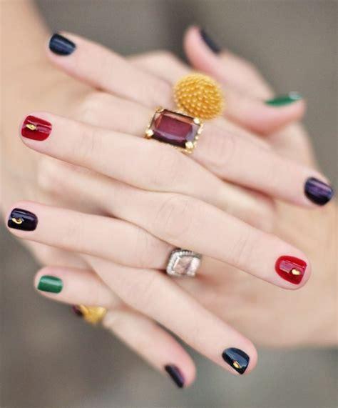 multi colored nails multi colored nails nail ideas