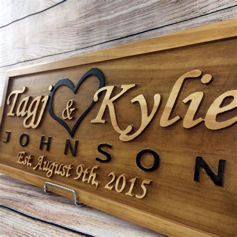 Wedding Anniversary Gift Names by Buy A Made Wedding Gift Wedding Sign Anniversary Gift