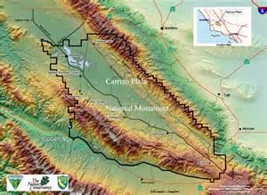 wildflower map carrizo plain wildflowers temblor range san luis obispo