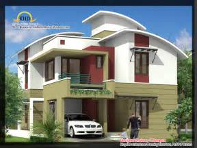 12 Bedroom House Plans 2035 sq ft 4 bedroom contemporary villa elevation and