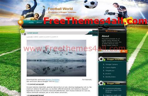 drupal soccer theme grunge blogger soccer team theme download