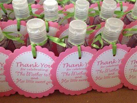 Sweet Baby Shower by Baby Shower Favors Sweet Pea Sanitizers From Bath