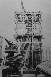 Who Built The Pedestal For The Statue Of Liberty Building The Statue Of Liberty The Visual Blog