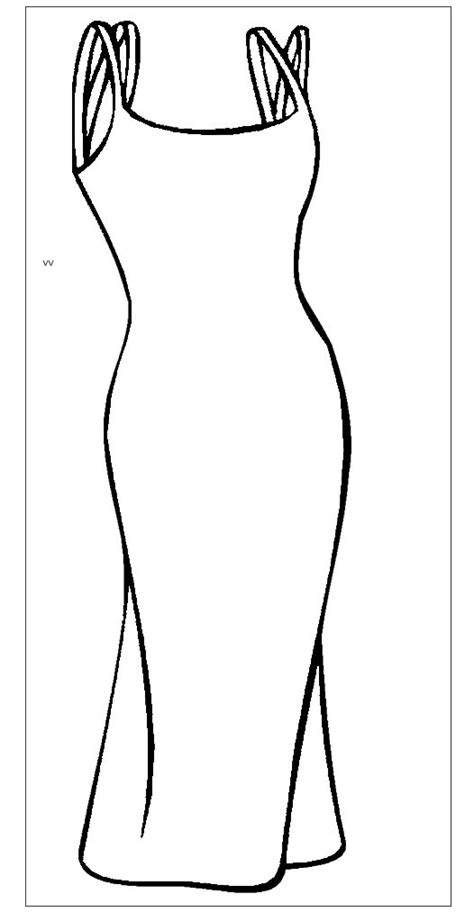 Fashion Adult Coloring Pages Dress Coloring Pages For Free
