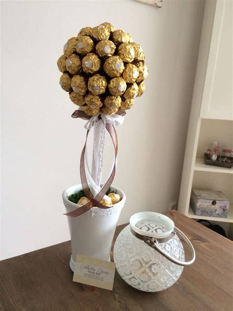 diy ferrero rocher tree ferrero rocher tree mein diy sweet trees and craft