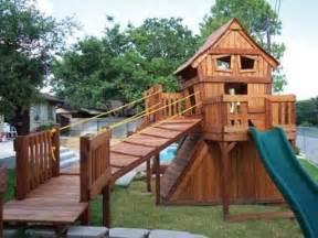 Playset Backyard 68 Backyard Fun Factory Custom Design Crazy Clubhouse