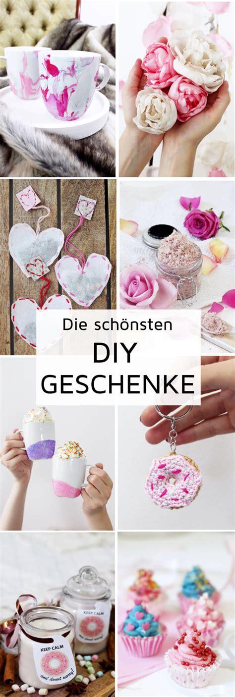 Diy Ideen Geschenke by Diy Geschenke Selber Machen Kreative Geschenkideen Basteln