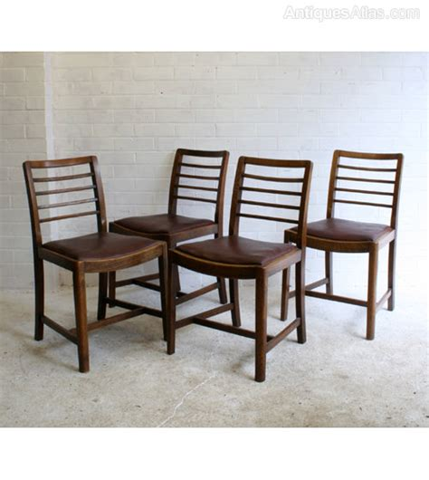 Heals Dining Chairs Antiques Atlas Four Heals Style Utility Dining Chairs