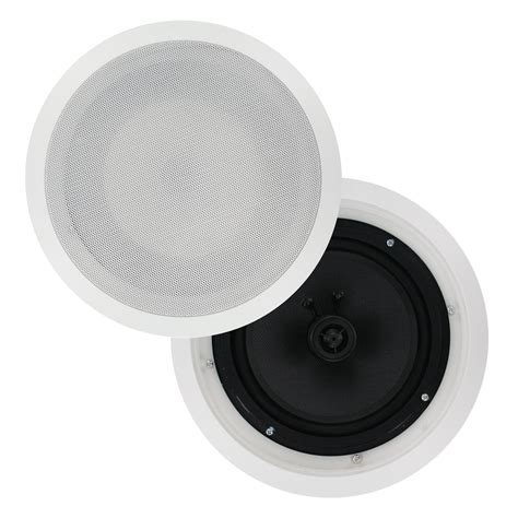 Surround Speakers In Ceiling by 8 Quot Carbon Cone In Ceiling Surround Speakers Pair Cs809 Selby