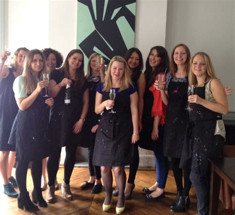 hen party private parties hens stags and birthdays popup painting