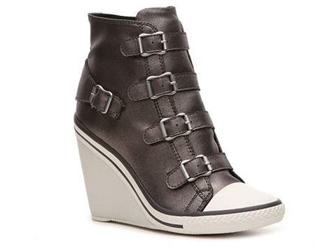 wedge sneakers dsw rock jolt metallic wedge sneaker dsw