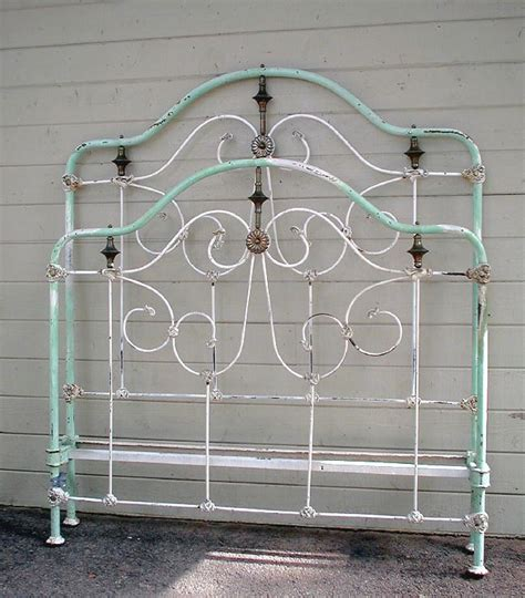 Iron Bed Frame by Antique Wrought Iron Bed Frame