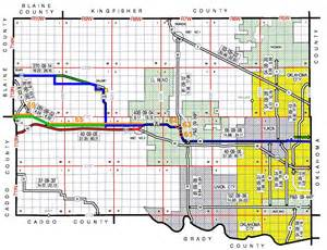 odot planning research division route 66 historic maps