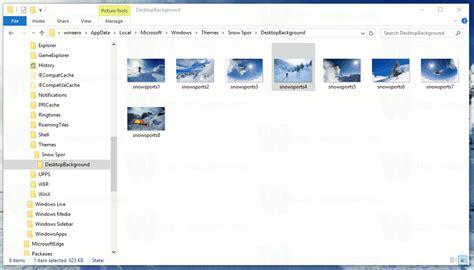 windows 7 themes extract pictures extract wallpapers from themepack or deskthemepack file