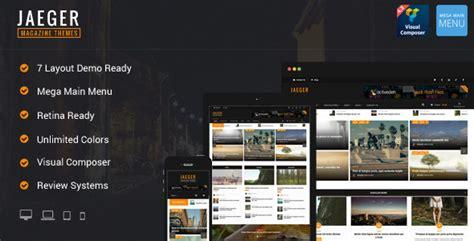 wordpress theme flexible layout plantillas wordpress jaeger flexible layout news