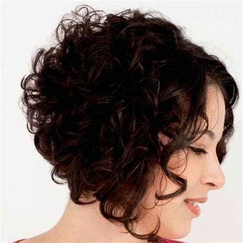 curly stacked bob short wavy stacked hairstyles google search hairstyles