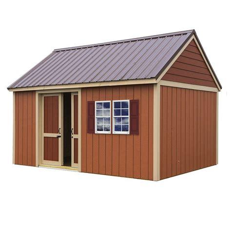 barns brookhaven  ft   ft storage shed kit