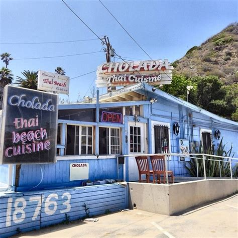 Malibu Restaurants Pch - cholada thai cuisine malibu restaurant across from topanga beach malibu mart