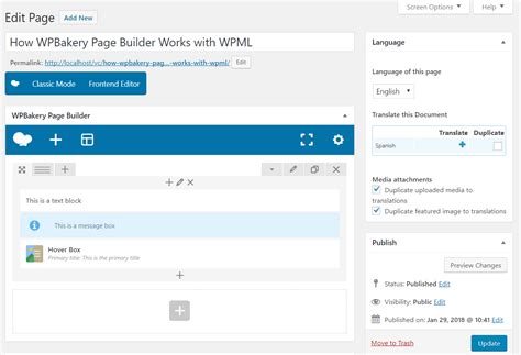 themes compatible with page builder wpbakery page builder compatibility with wpml traveler