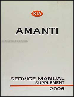 book repair manual 2009 kia amanti auto manual 2005 kia amanti electrical troubleshooting manual original