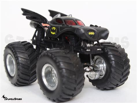 wheels monster jam batman truck wheels monster jam batman batmobile loose die cast