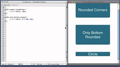 css layout rounded corners ava new tutorial walkthrough