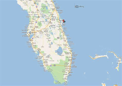 canaveral florida location of kennedy space center in florida everglades