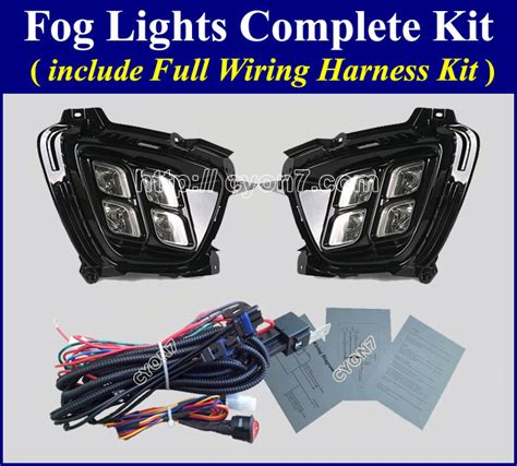 kia fog lights fog light l complete kit wiring harness kit for