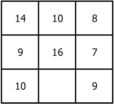 Puzzle Number number puzzle 18 find the missing number
