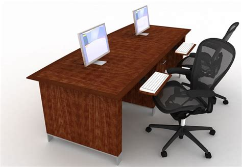 desk for two persons wonderful concept of 2 person desks for home homesfeed