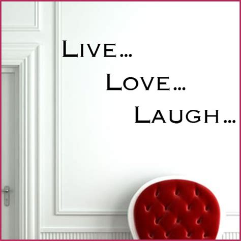live laugh stickers for wall live laugh wall sticker decals
