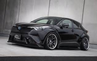 Toyota Vom Toyota C Hr Shows Tuning Side With Kuhl Racing Bodykit