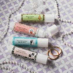 Useful Wedding Giveaways - personalized lip balm favors what a great idea for useful wedding favors wedding