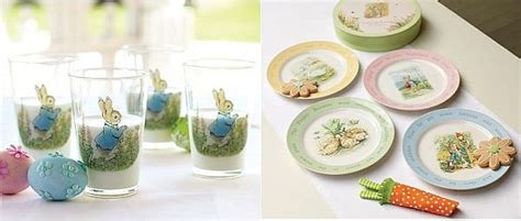 Kids Table Set Peter Rabbit Table Decorations For The Easter