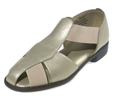 stretch comfort sandals airspree leather and stretch comfort sandals qvc com