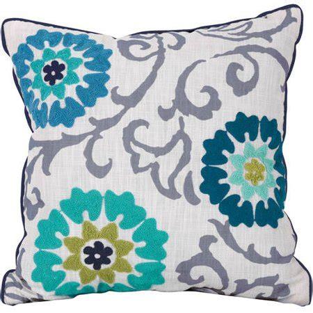 walmart pillows decorative better homes and gardens floral medallion decorative