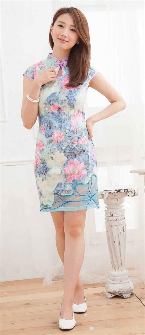 Beli Baju baju cheongsam wanita modern import murah model terbaru jual murah import kerja