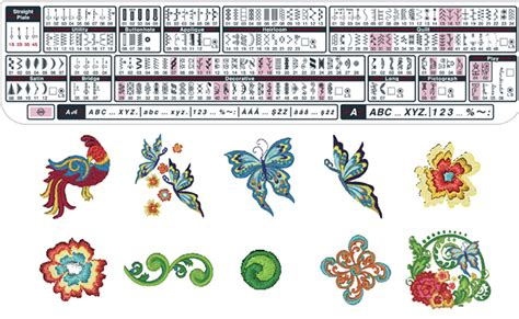 janome pattern download janome embroidery designs free download save the robots