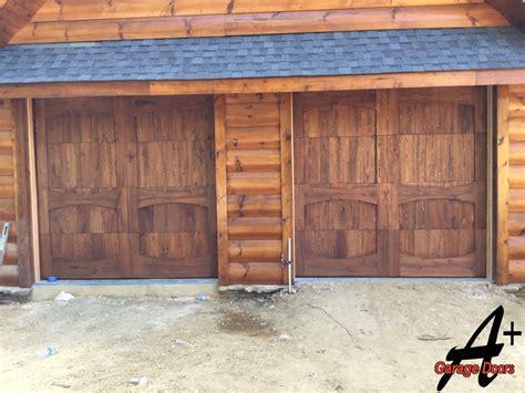 Lake Wylie Residential Custom Wood Garage Door Installation Carolina Garage Doors