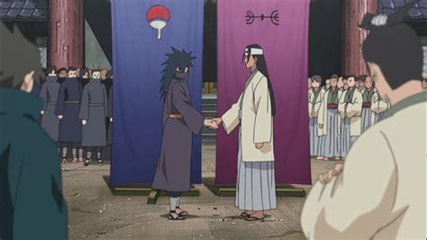 uchiha  senju alliance hashirama  madara naruto shippuden  daily anime art