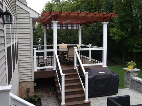 Awnings And Shades Deck With Pergolas Deck Pergolas In Lancaster Amp Chester