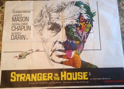 stranger in the house movie poster original 1967 uk quad stranger in the house
