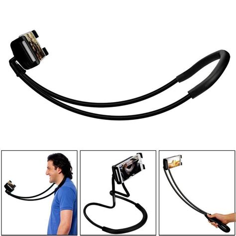 Neck Mobile Stand lazy bracket mobile phone neck hanging stand holder for