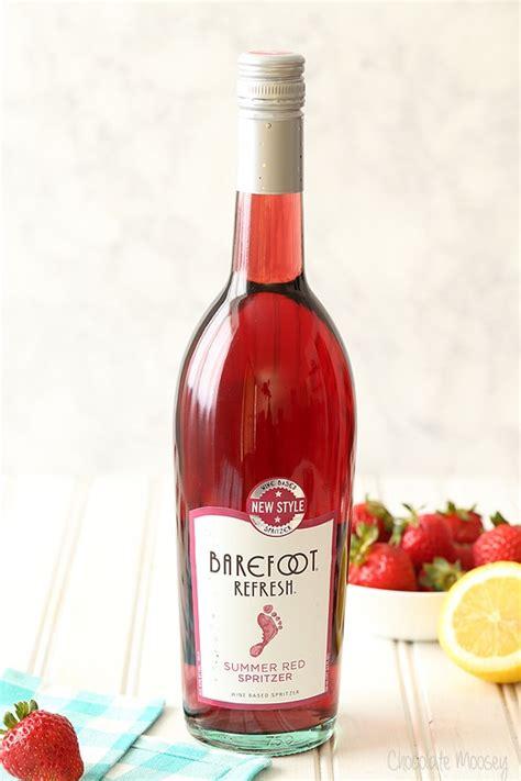 strawberry wine spritzer slush