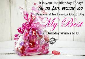 Words For 1st Birthday Card Birthday Wishes For One Year Old Birthday Images Pictures
