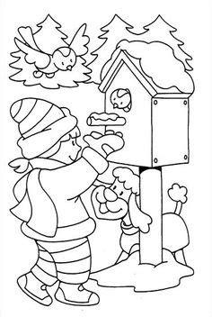 Mit Kindern Zu Weihnachten Basteln 5969 by Ausmalbilder Winter Ausmalbilder F 252 R Kinder Schulkindi