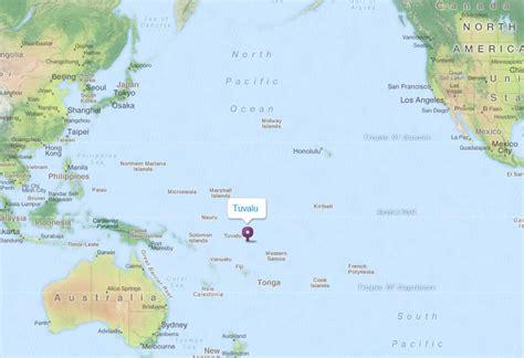 tuvalu on world map tuvalu map and tuvalu satellite images