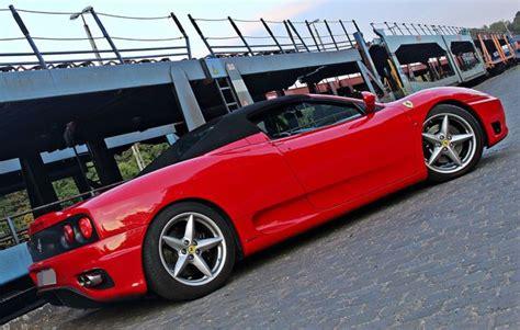 Ferrari Fahren Geschenk by Ferrari 360 F1 Spider Fahren In K 246 Ln Als Geschenk Mydays