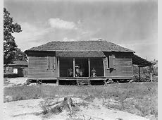 Stunning photographs from 1930s of some sharecropping ... Sharecropping House