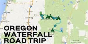 map of oregon waterfalls 1000 ideas about crater lake on oregon lakes